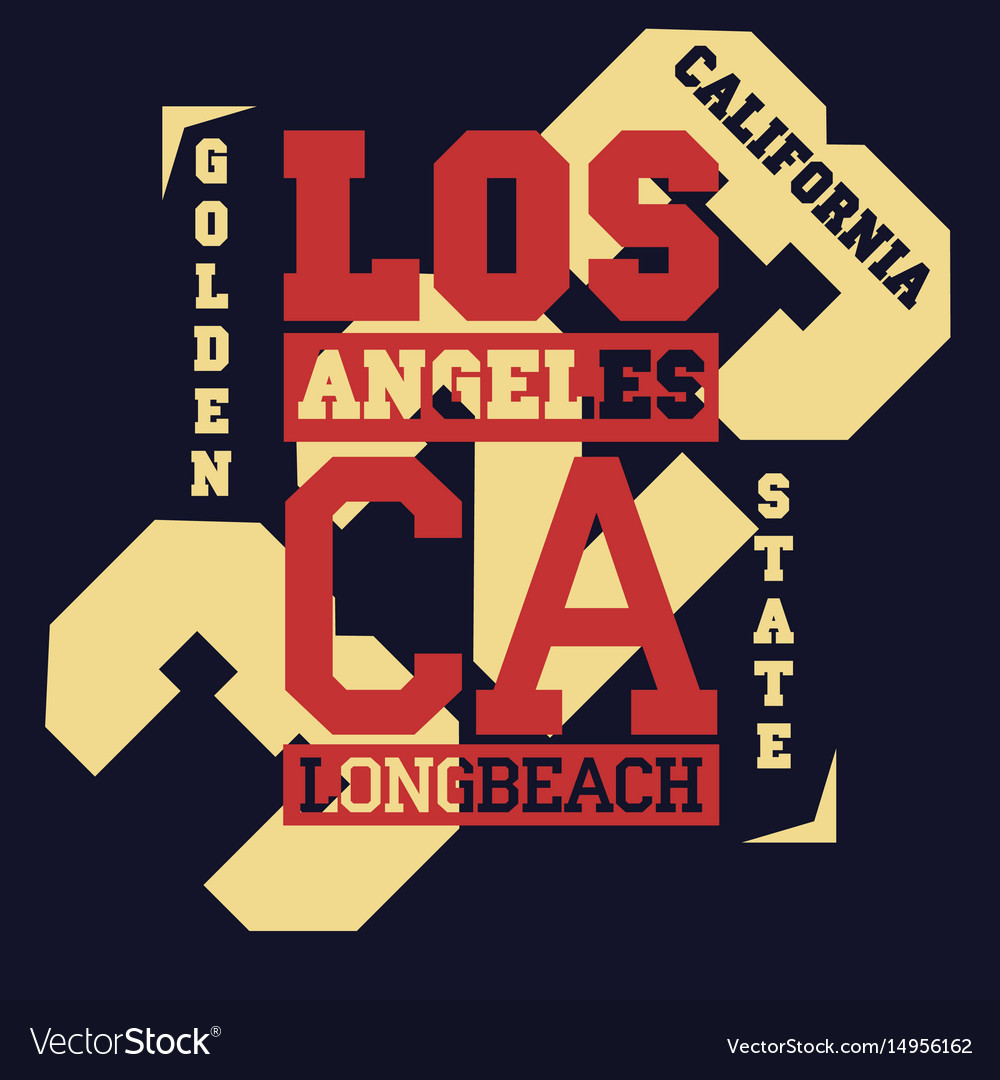 California typography print grizzly bear t-shirt