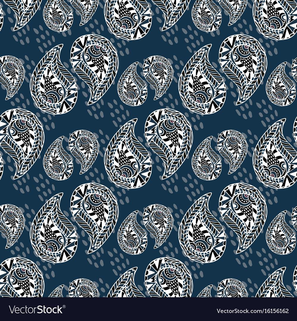 Ornamental pattern vintage texture seamless