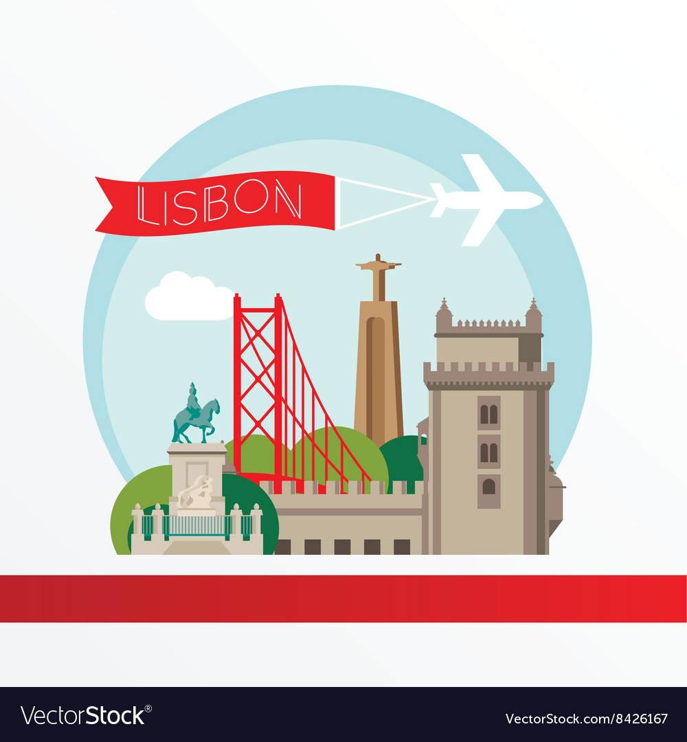 Lisbon detailed silhouette Trendy