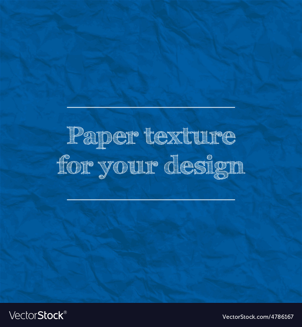 Seamless texture crumpled paper Repeating pattern vector image