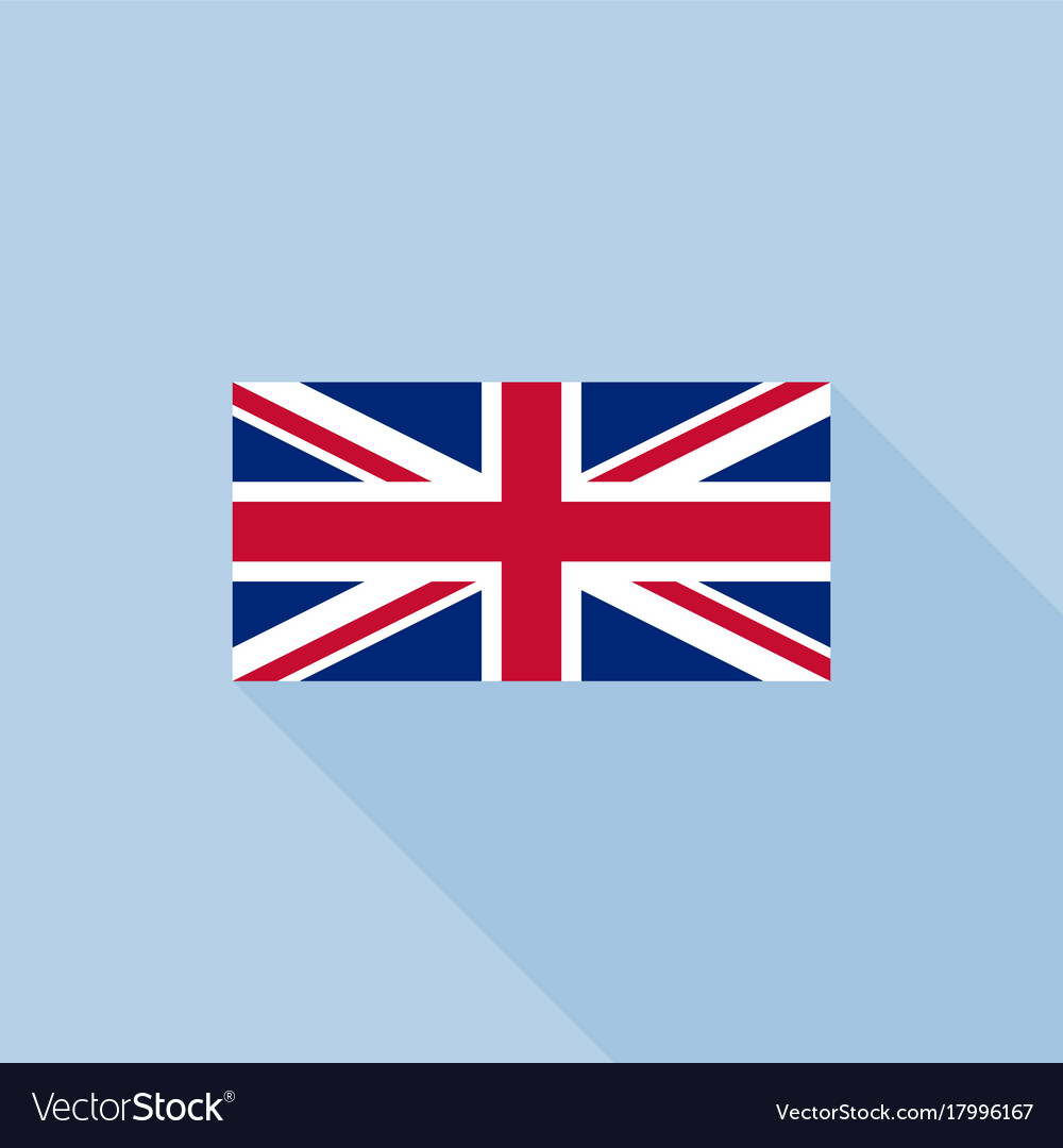 Union Jack Or United Kingdom Flag Royalty Free Vector Image