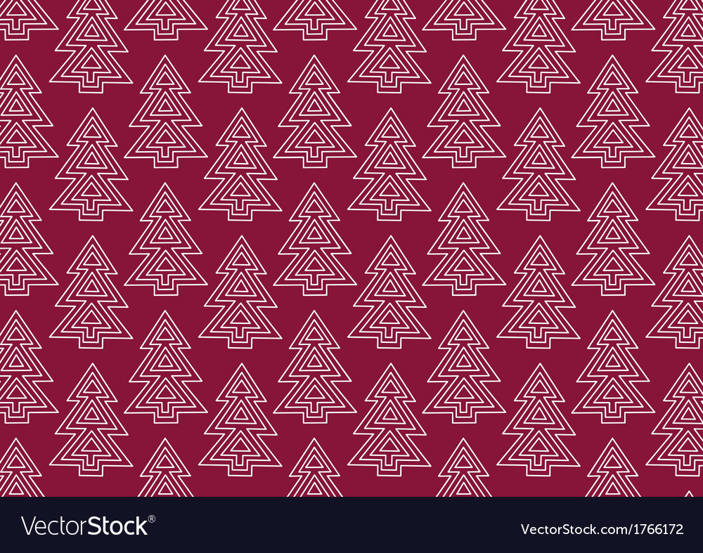 Background with fir trees