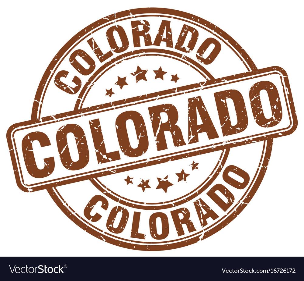 Colorado Stamp Vector Image