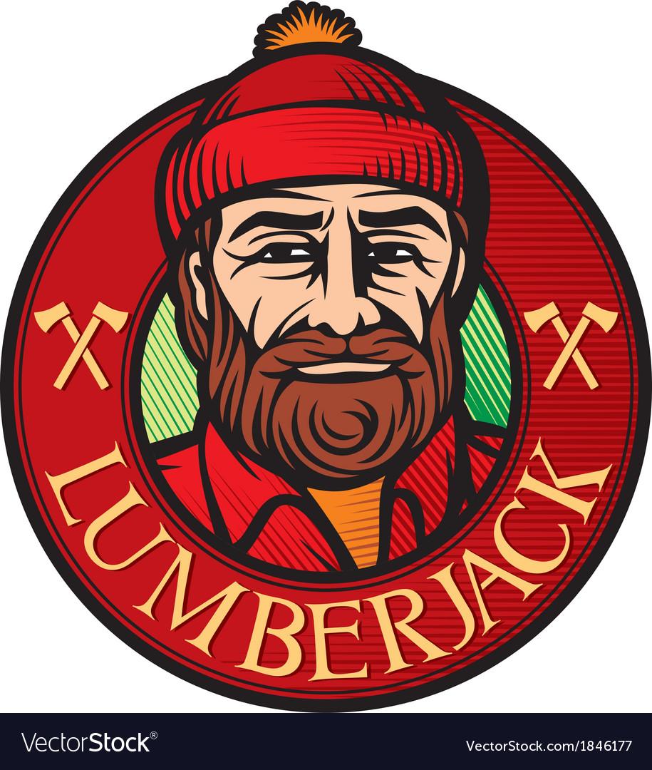 Lumberjack label