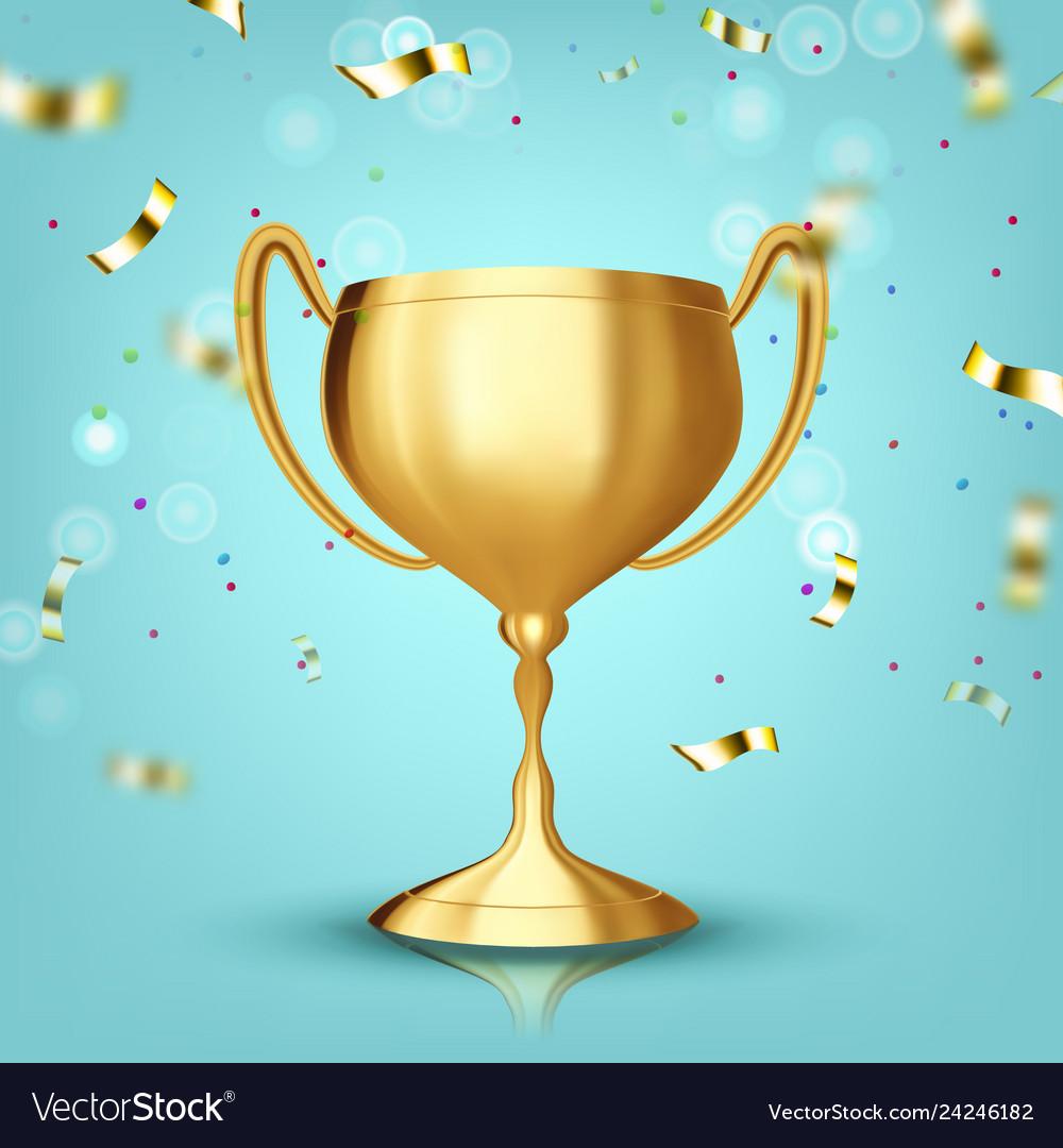 Award cup champion prize winner icon