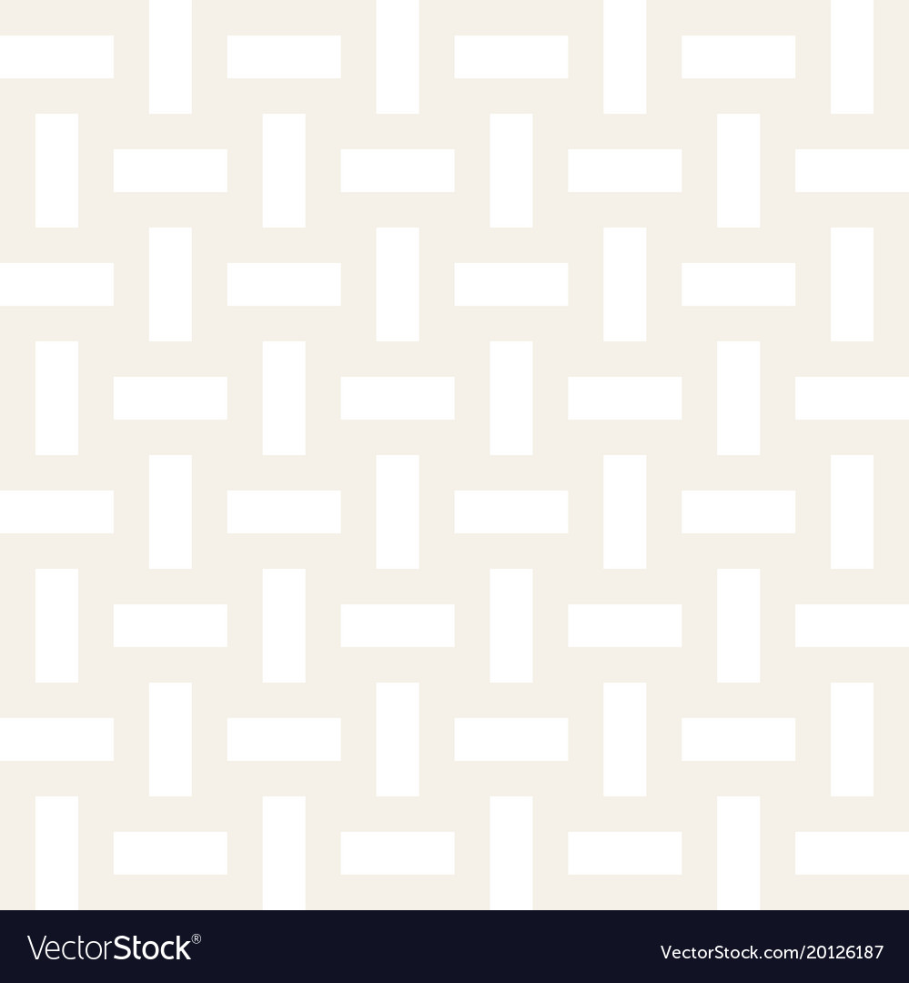 Trendy monochrome twill weave lattice abstract