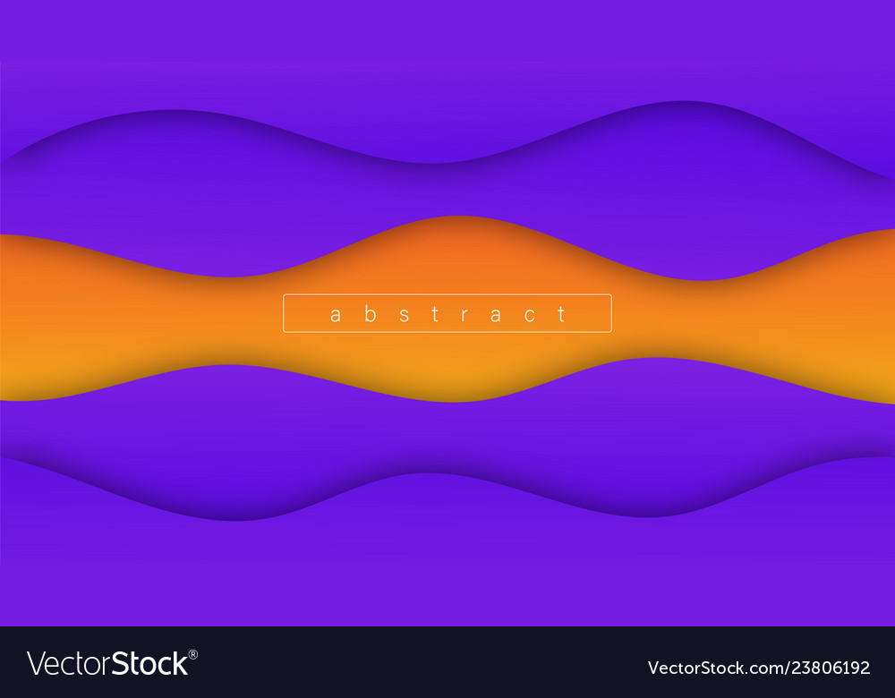 Abstract wave shapes gradients