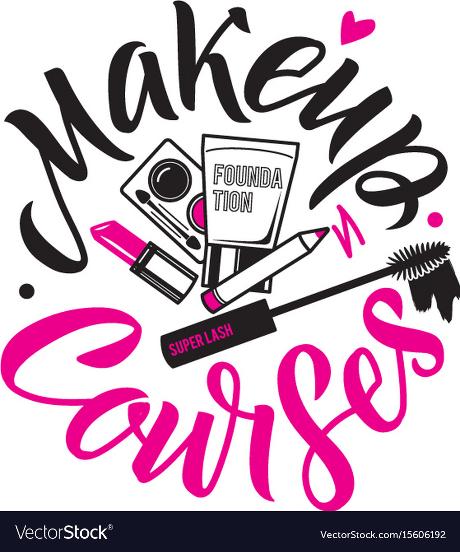 Makeup Courses Logo Of Royalty Free