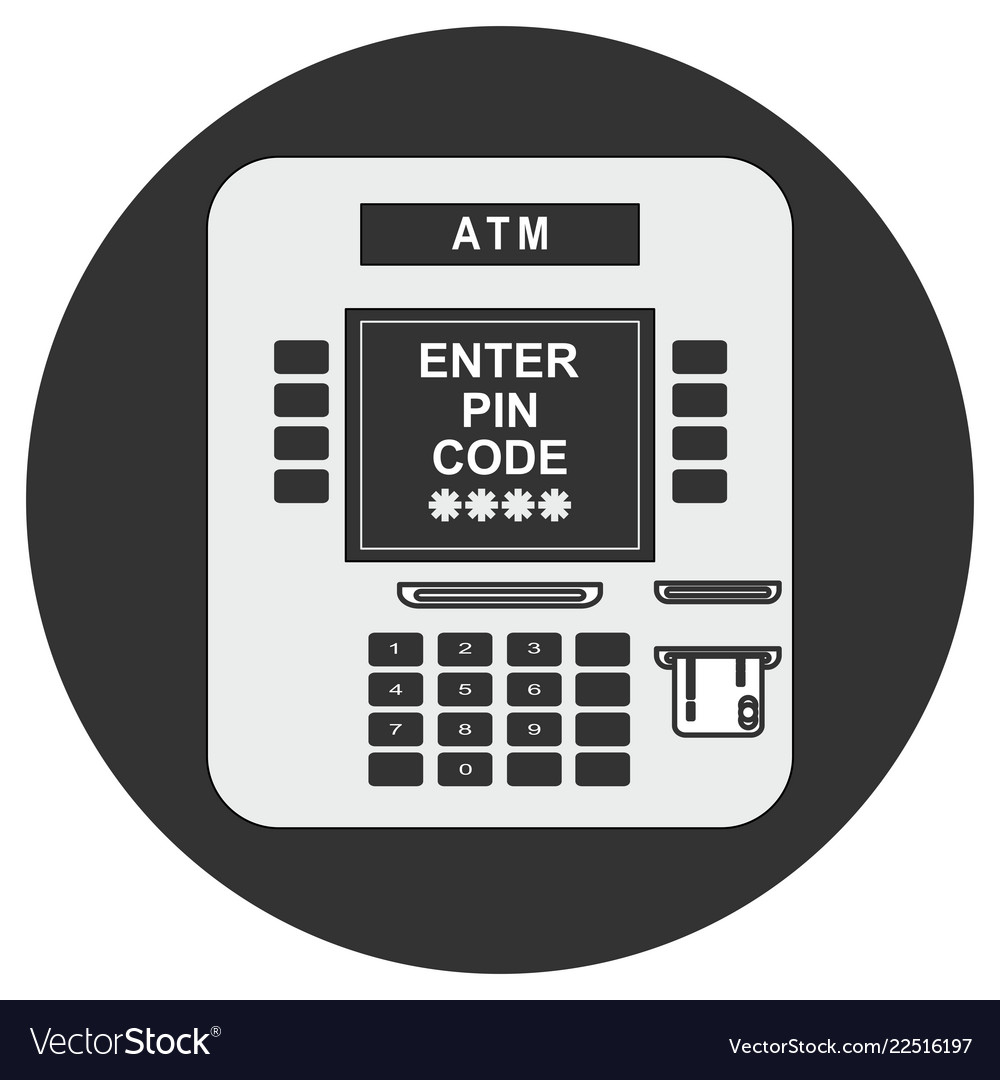 Atm payment atm machine with
