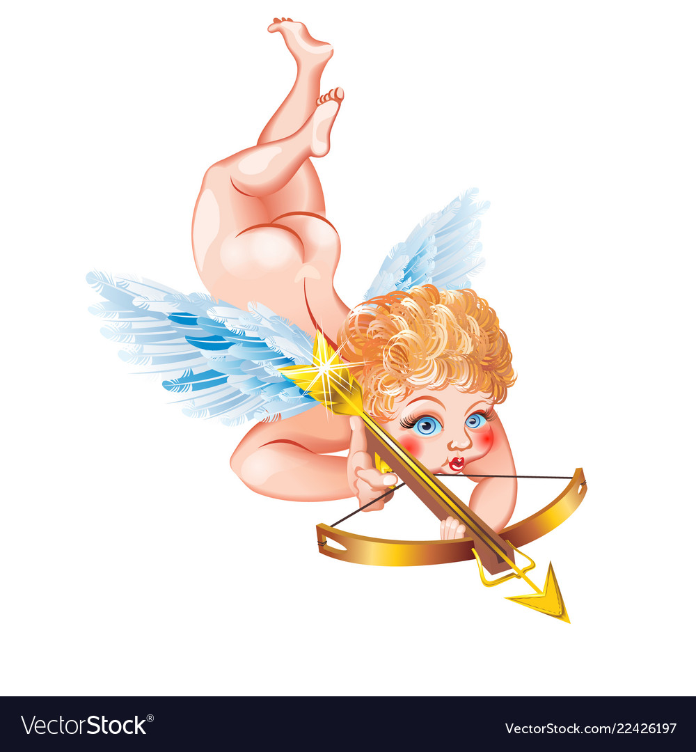 Cupid with a crossbow