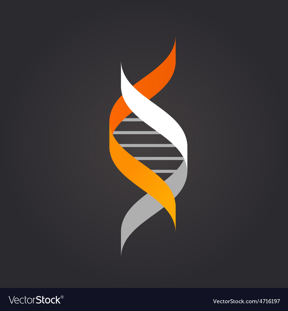 DNA genetic element and icon