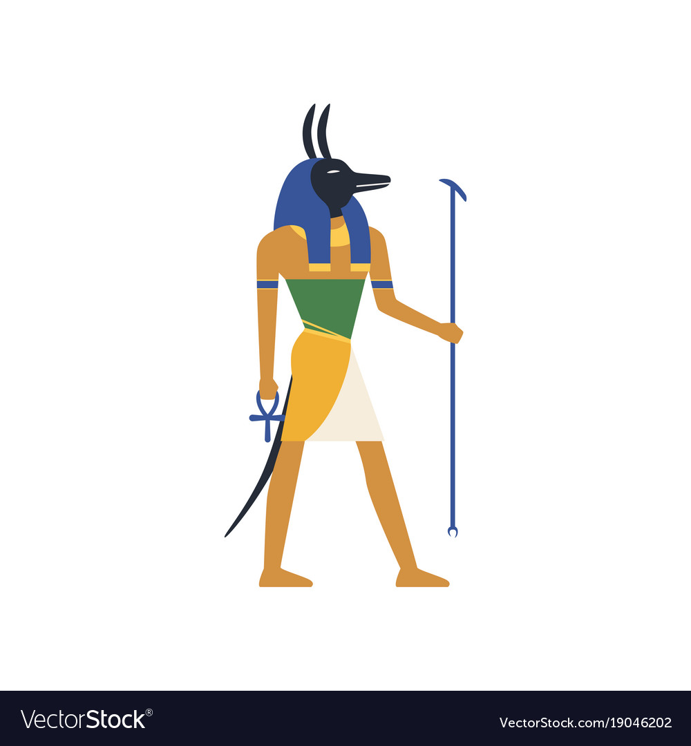 Anubis the god of death egyptian ancient culture
