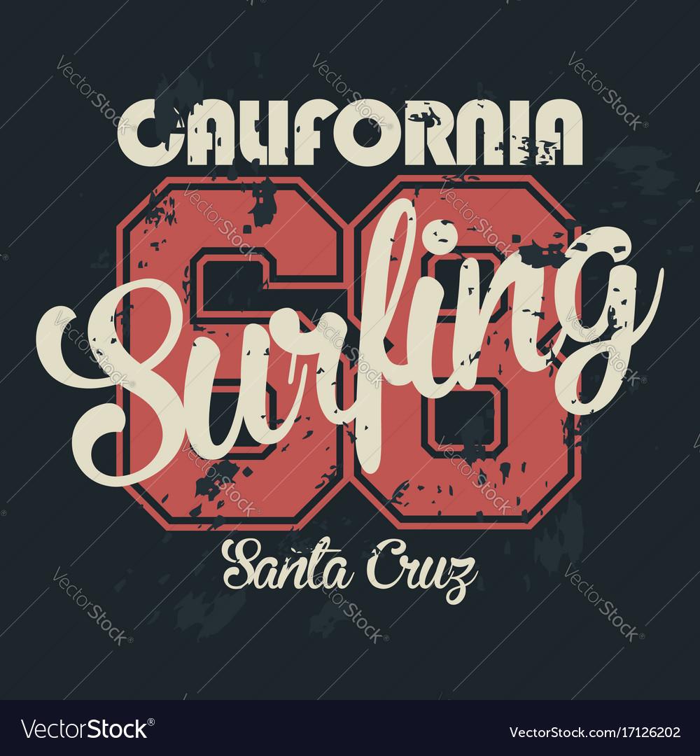 Los angeles california t-shirt graphics vintage