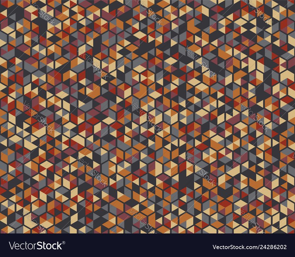 Seamless pattern geometric vintage