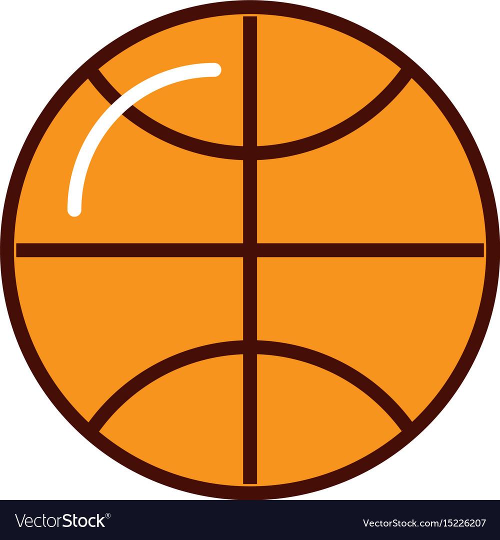 Brightly basket ball cartoon