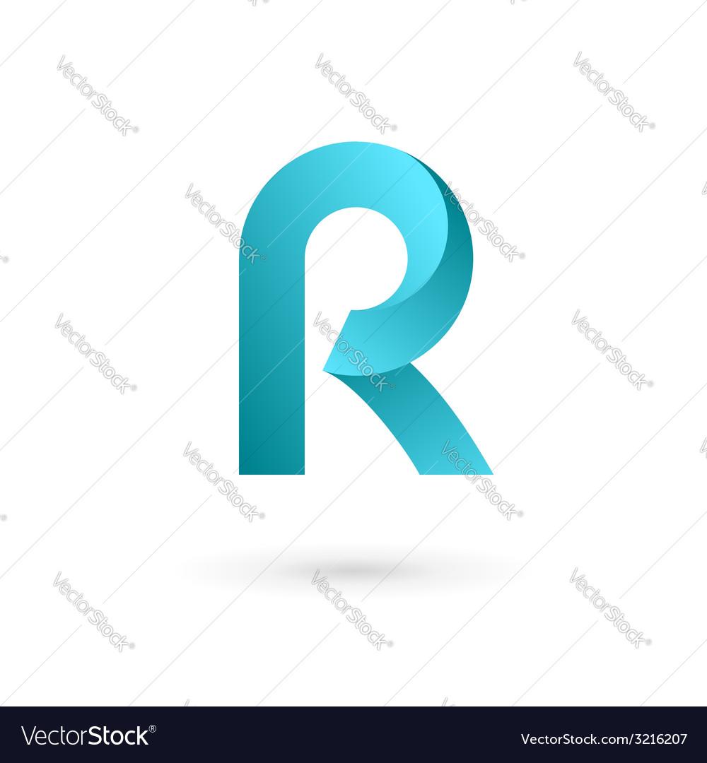 Letter r logo icon design template elements vector image altavistaventures Image collections