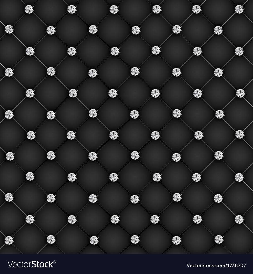 Luxury background with diamond buttons