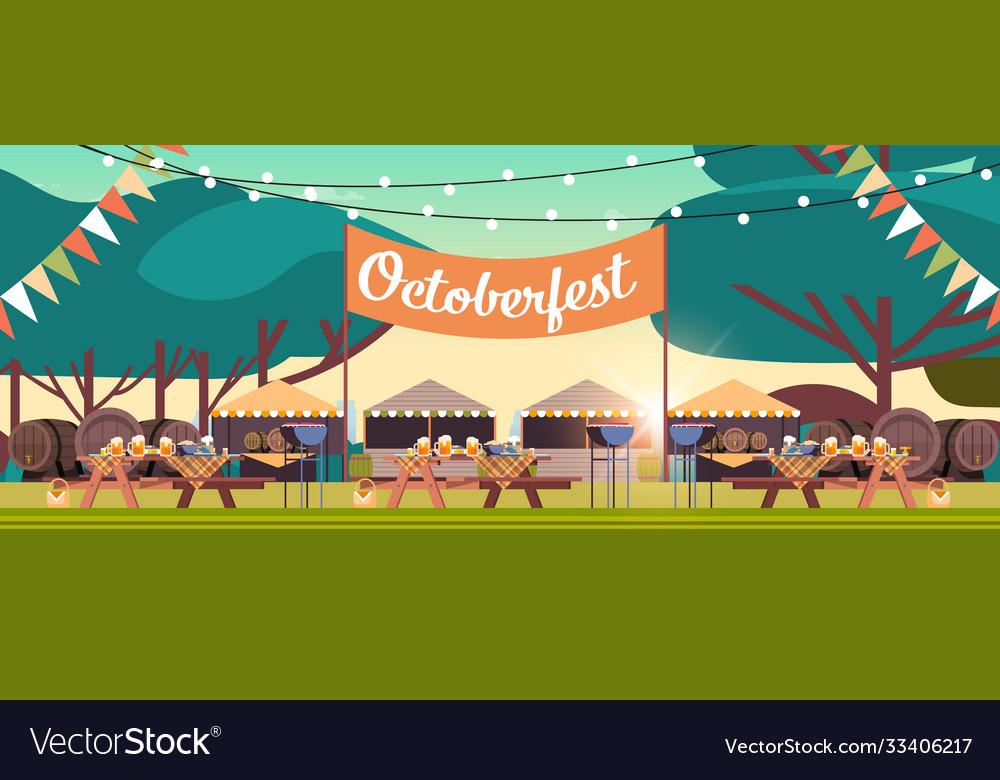 Oktoberfest festival party celebration concept