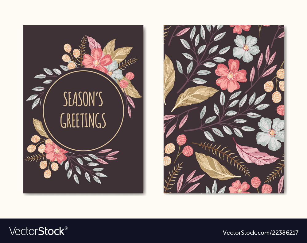 Seasons greetings card collection