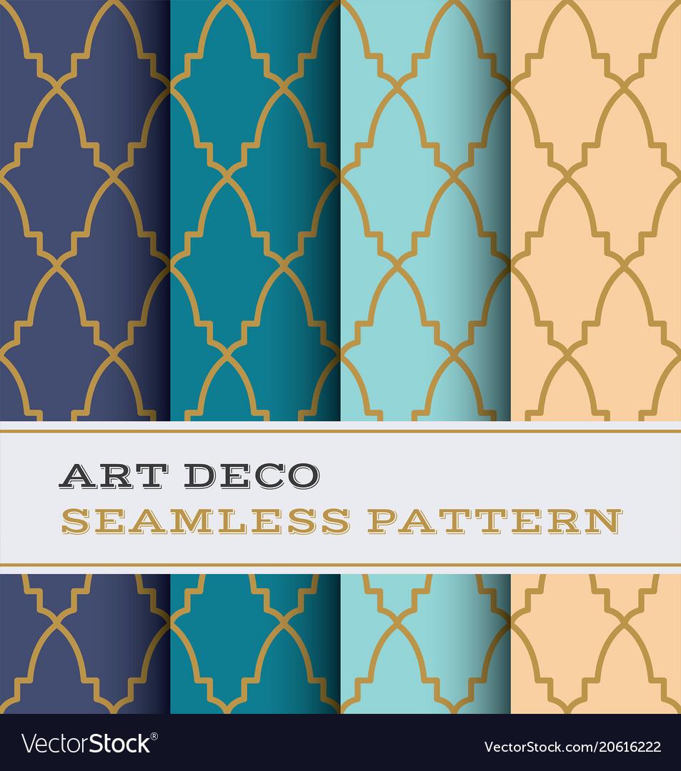 Art deco seamless pattern 37