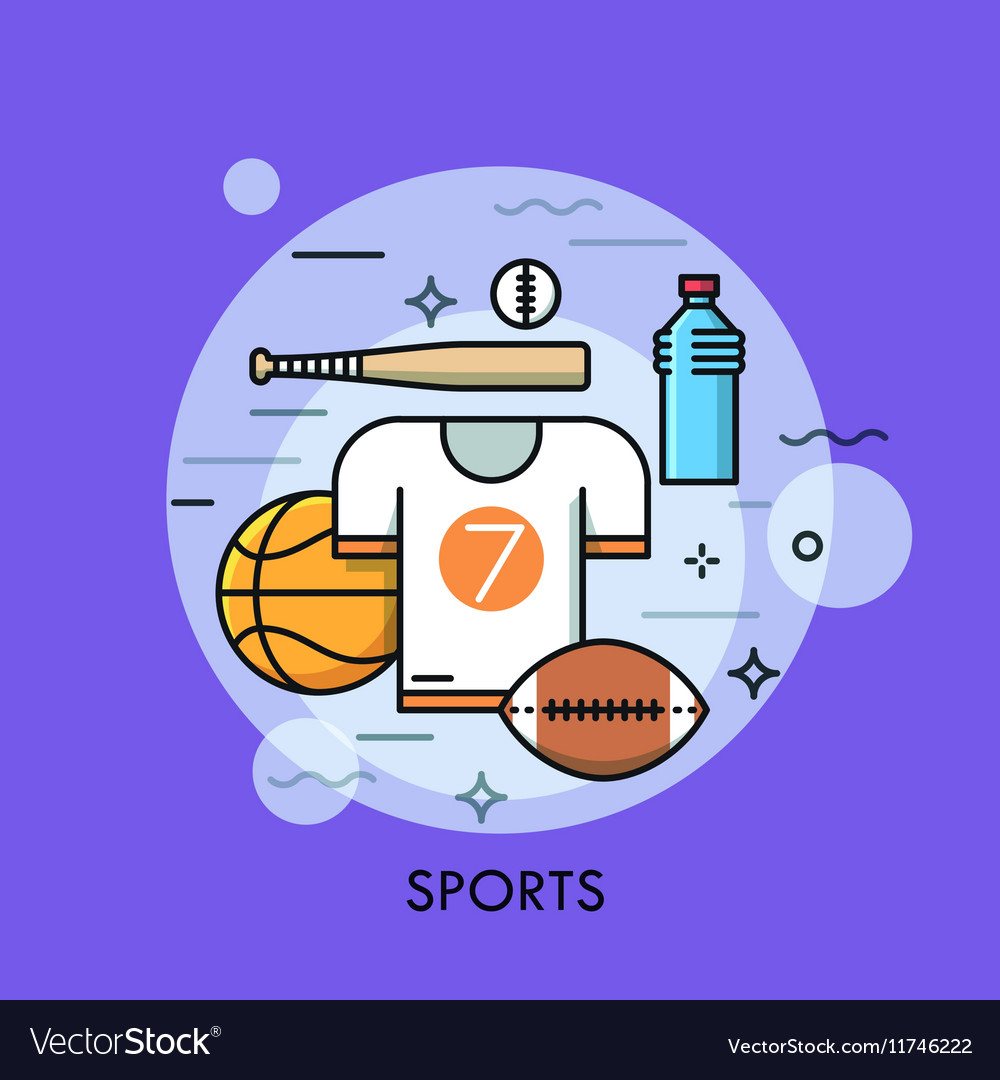 Sports equipment for player sporting goods and