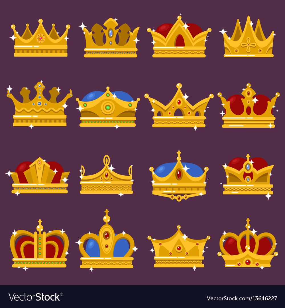 Monarch shining crown pope tiara queen headdress