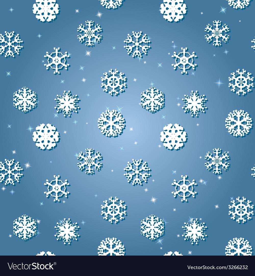 snowflakes winter seamless texture endless pattern