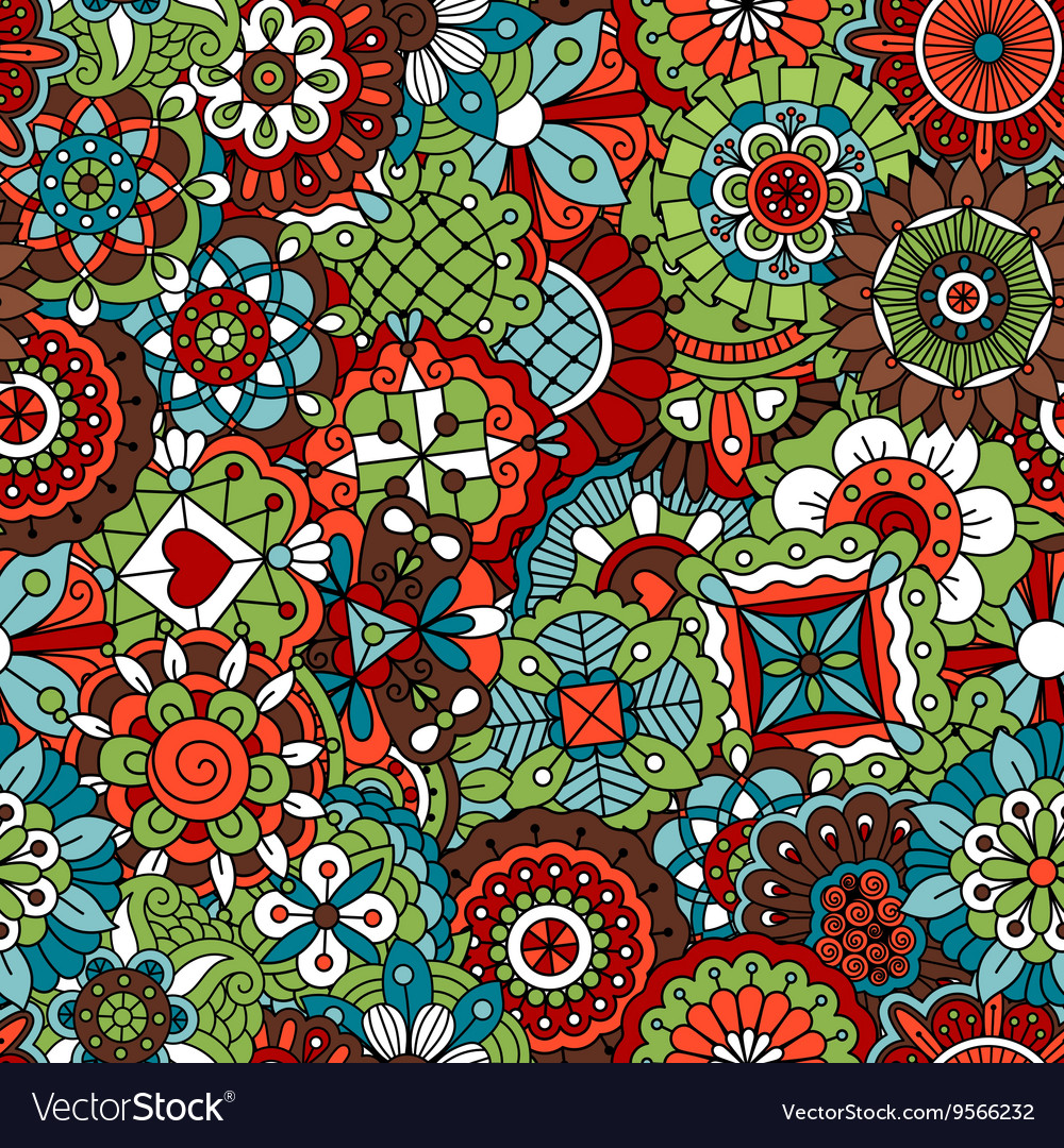 Vintage background colored red green and brown