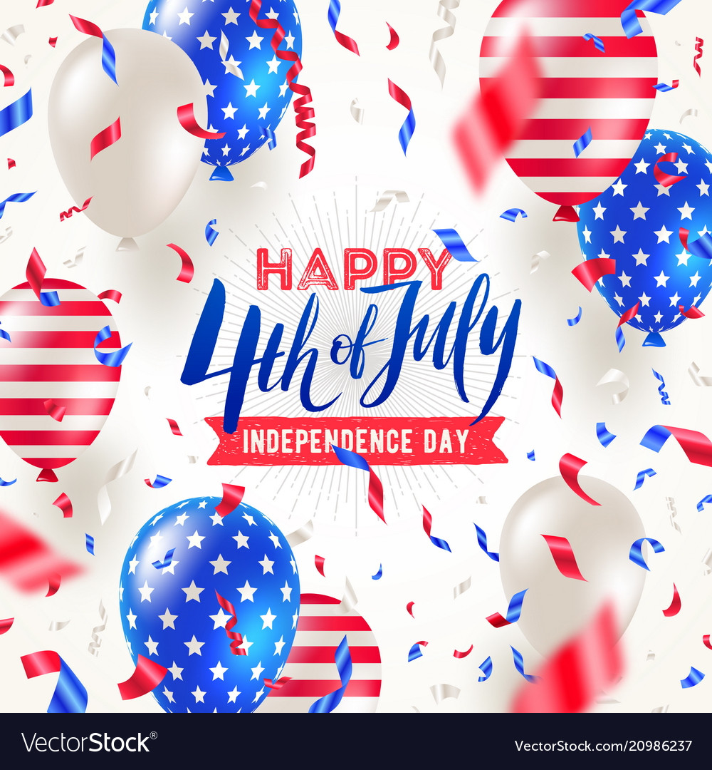 4th july independence day design