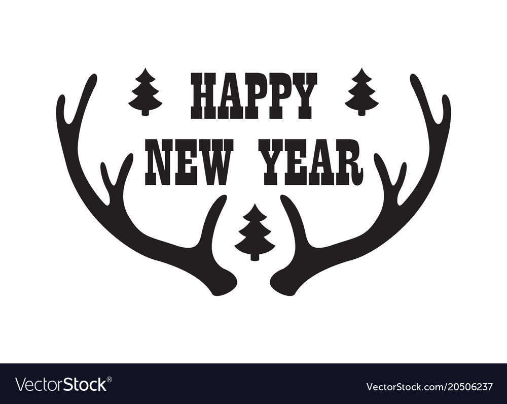 Happy New Year Horn 40