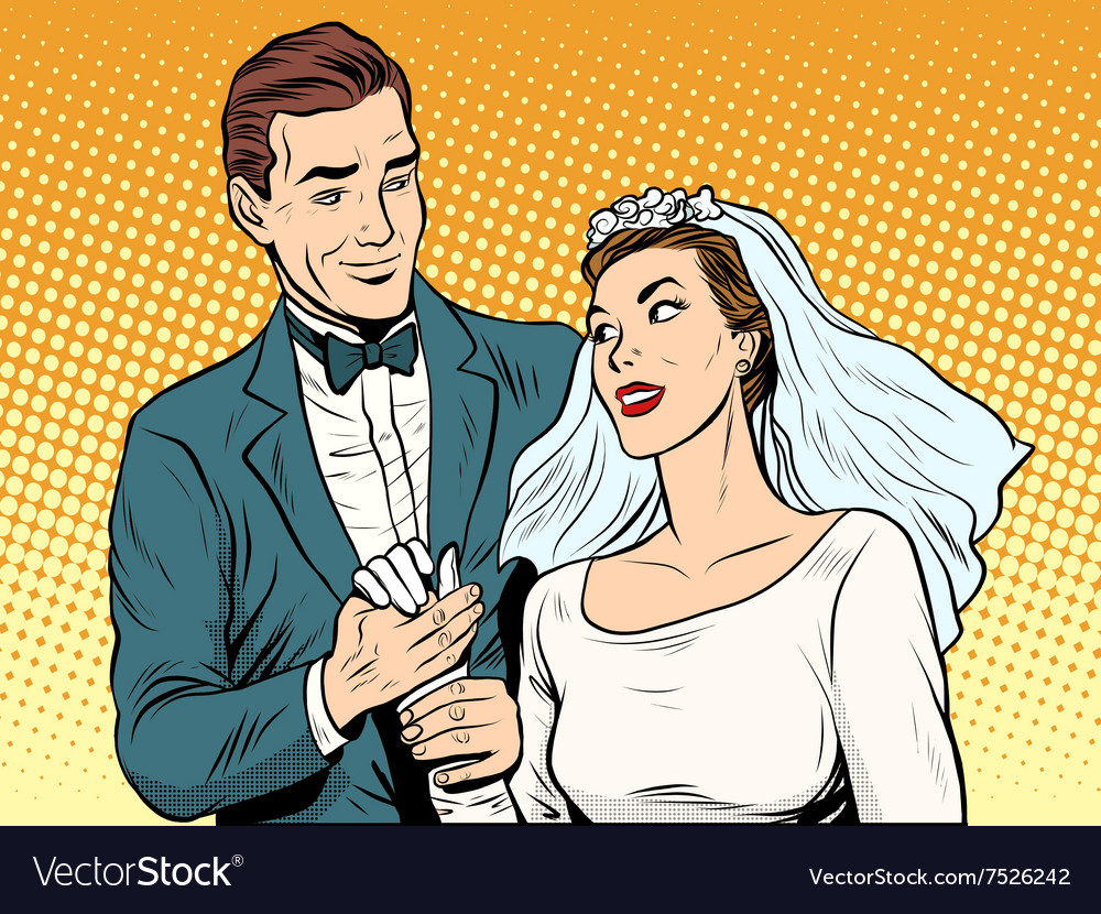 Wedding betrothal engagement groom bride love