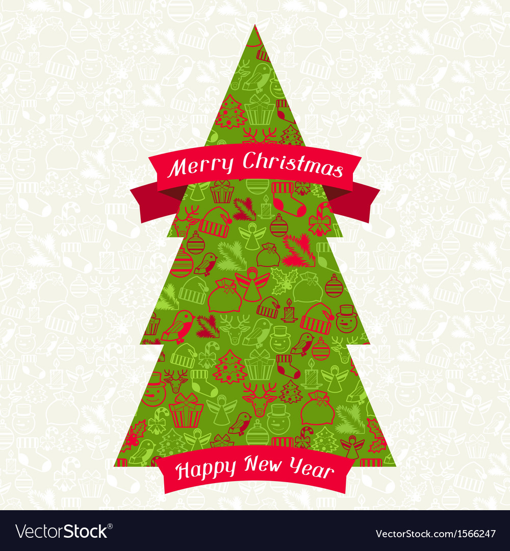 Merry Christmas Background For Invitation Card