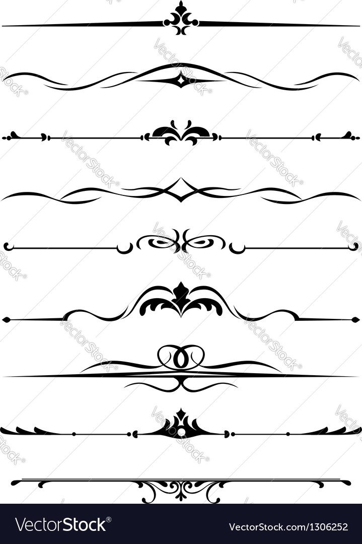 Borders and monograms