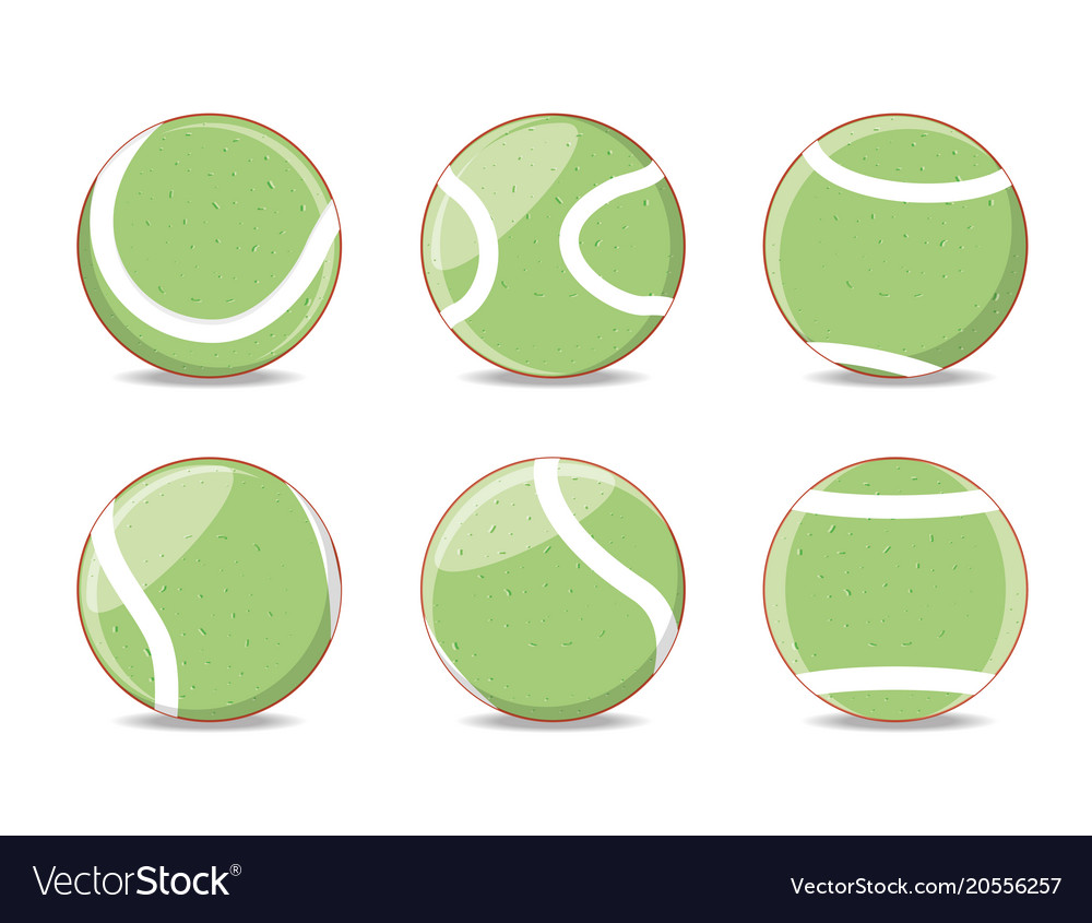 Balls to play tennis sport