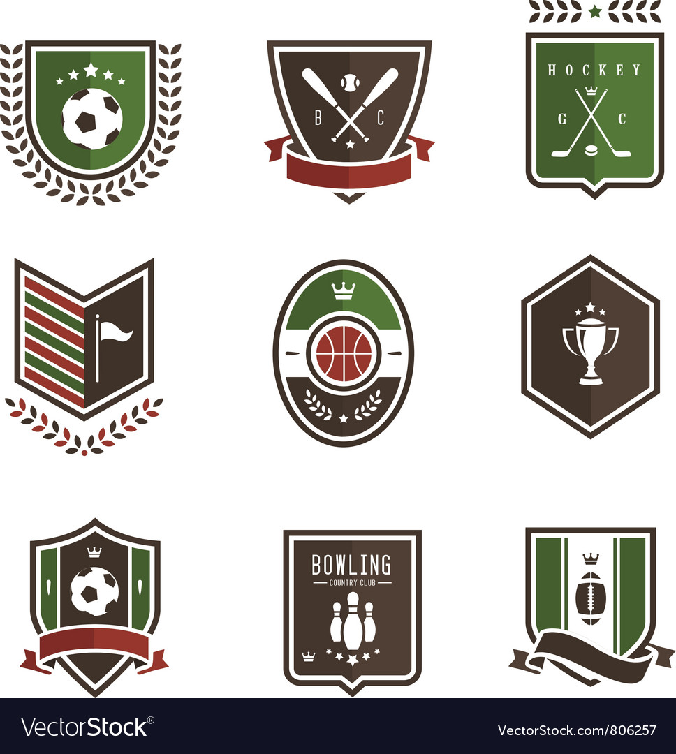Sport emblems