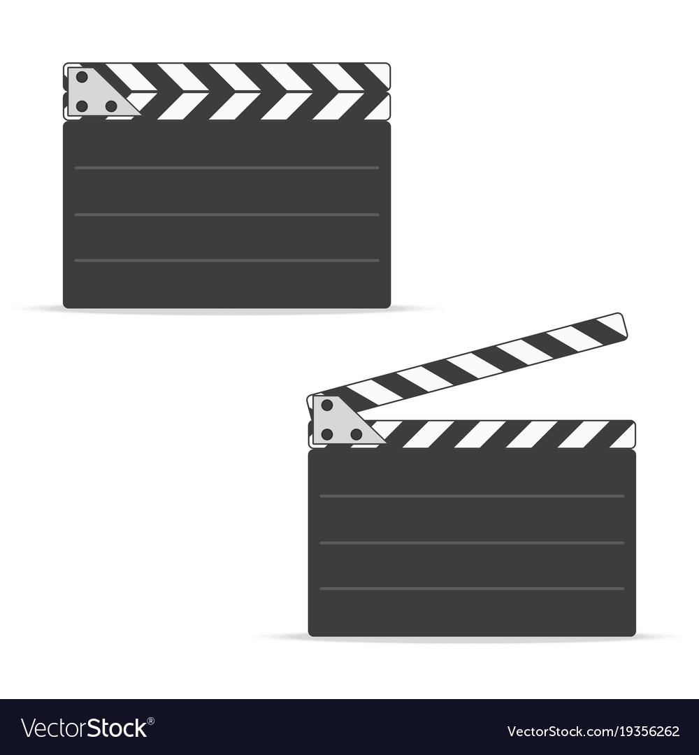 Movie clapper board set