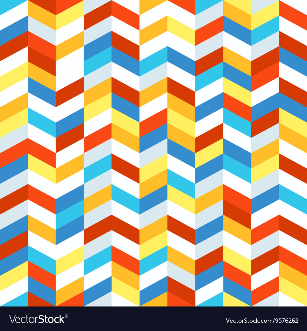 Seamless pattern of different figures Abstract