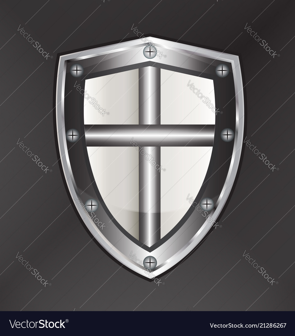 Shield protection with cross