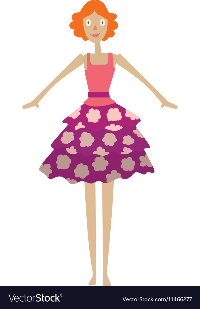 Doll girl toy character