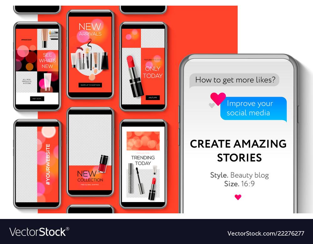 Editable instagram stories template streaming