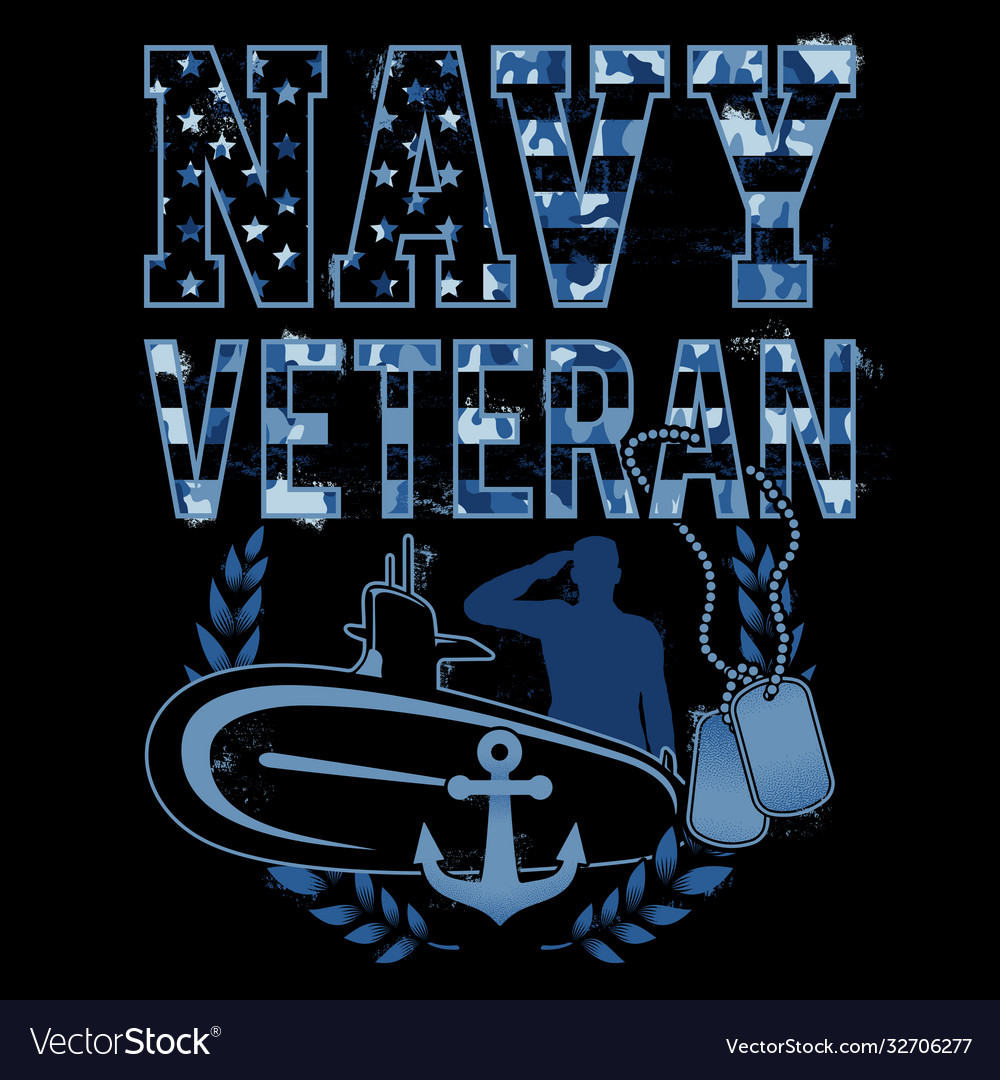 Navy veteran camouflage