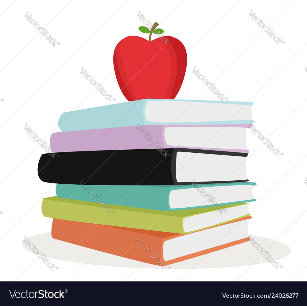 Stack color books