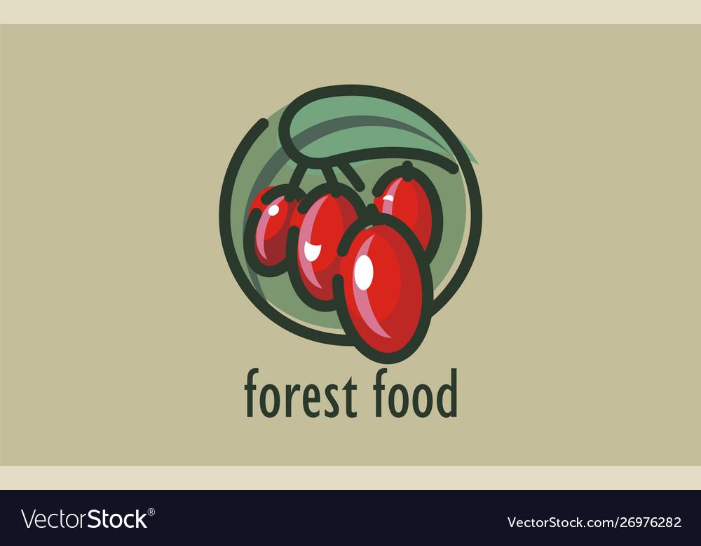 Logo design forest food self-sown