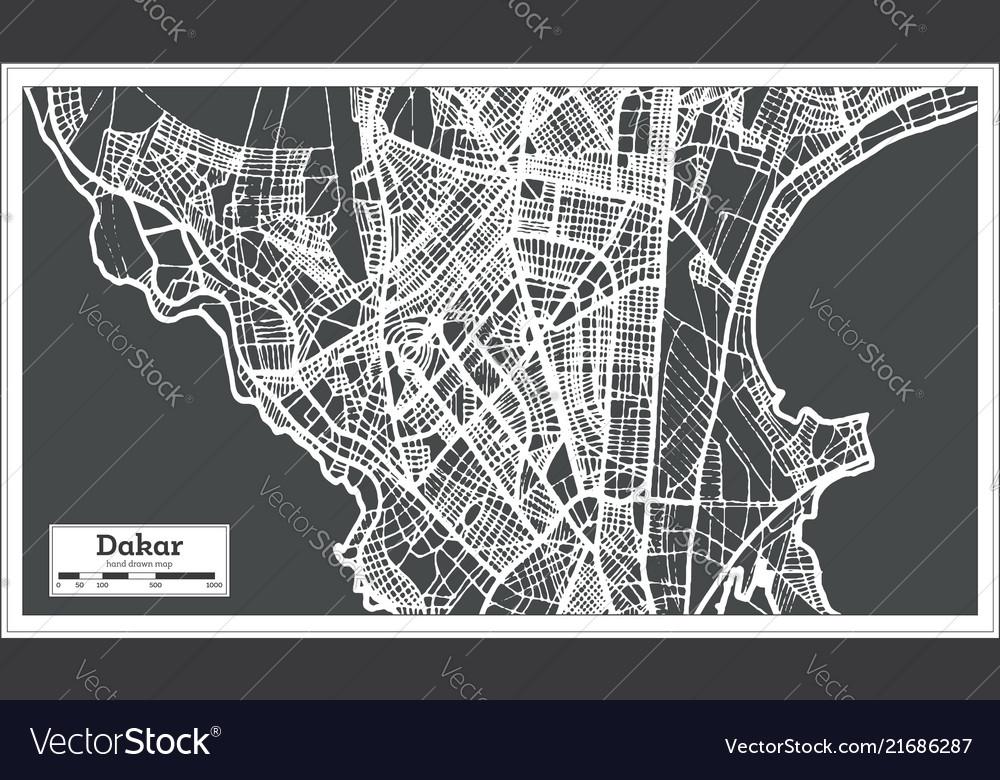 Dakar senegal city map in retro style outline map on ramallah city map, limassol city map, ibadan city map, bulawayo city map, apia city map, aleppo city map, fortaleza city map, libya city map, cameroon city map, gwangju city map, kumasi city map, accra city map, cotonou city map, goteborg city map, murmansk city map, kaliningrad city map, malabo city map, zambia city map, dushanbe city map,