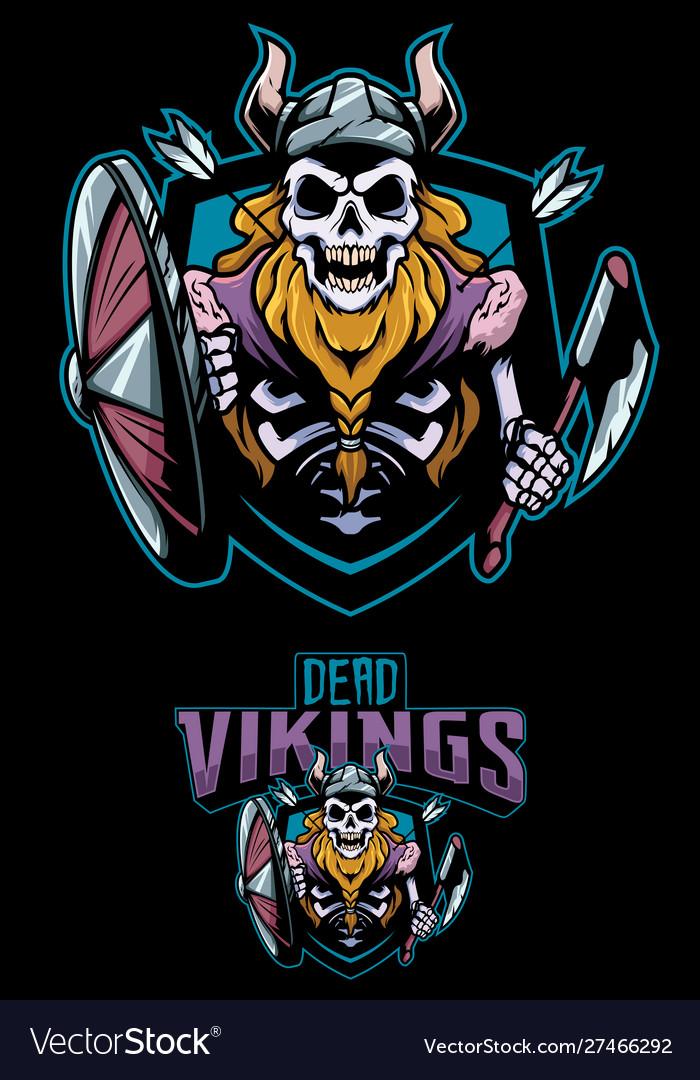 Dead vikings mascot