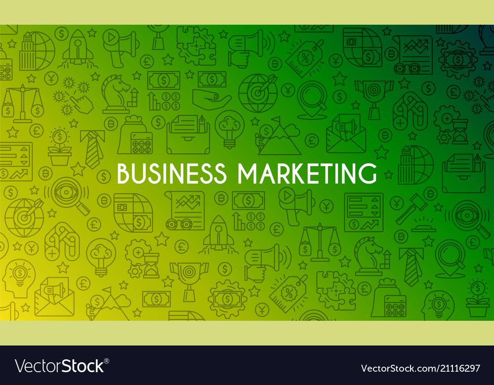 Business marketing banner