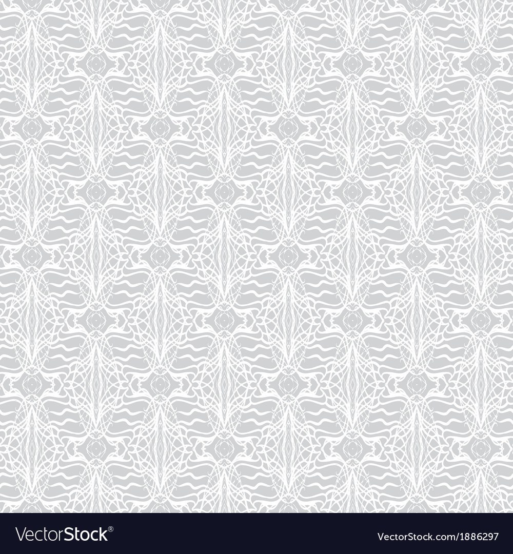 Lacing geometric ornament in art deco style vector image