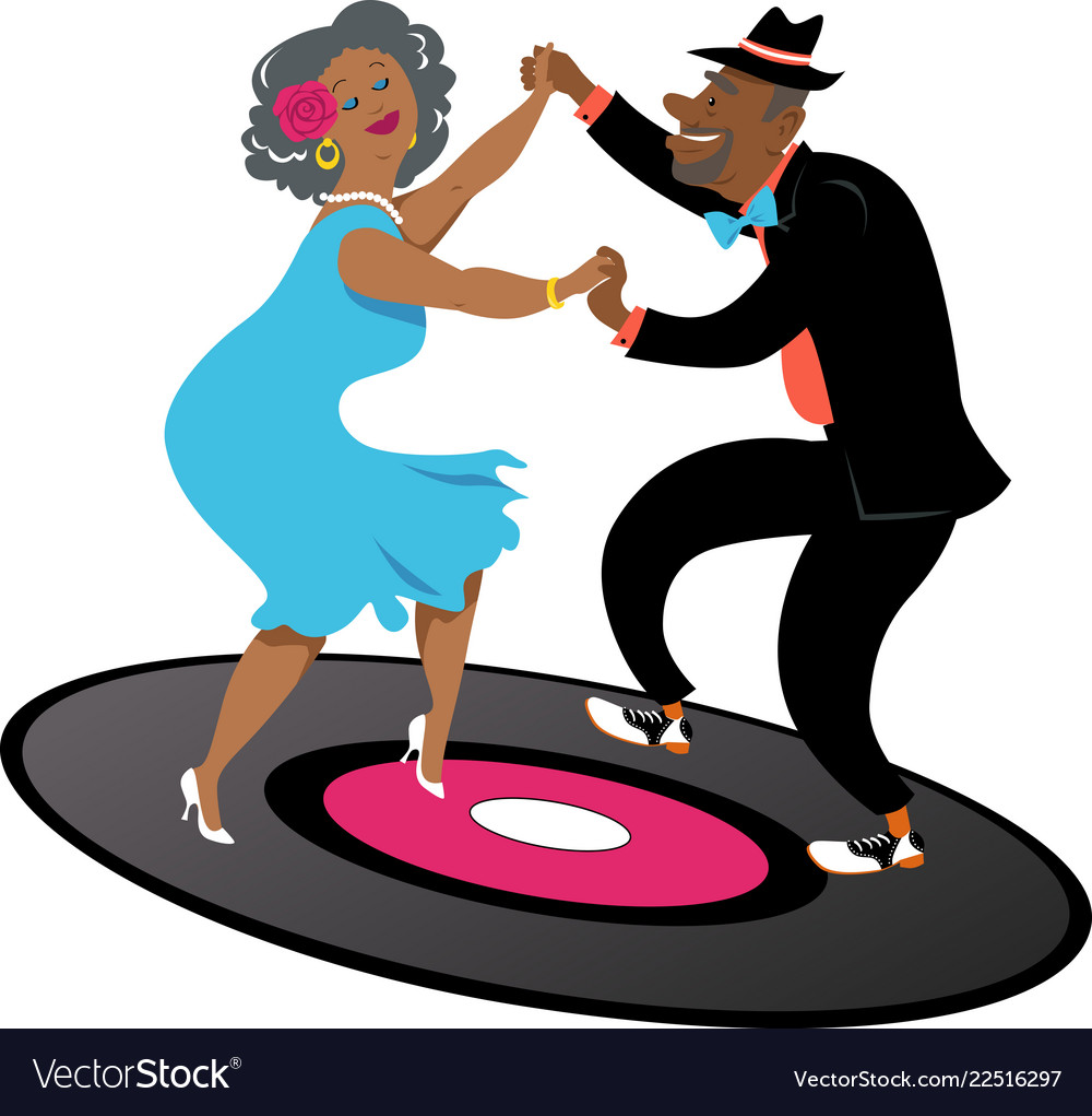 Seniors dancing latin