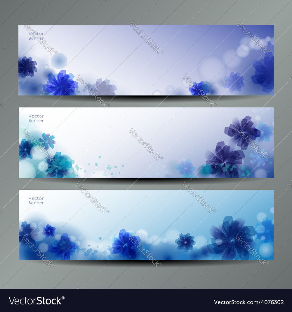 Abstract Flower Background Brochure Template