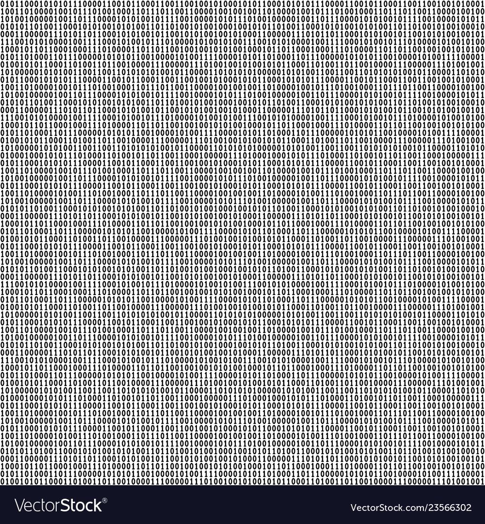 Binary code seamless pattern